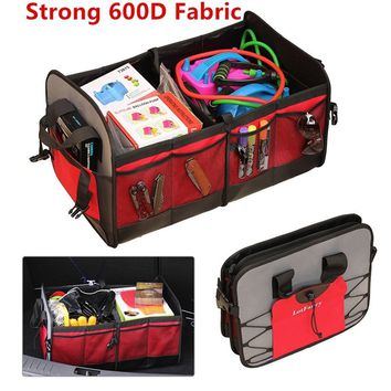 Foldable Car Suv Trunk Organizer Multipurpose Portable Collapsible Cargo Storage Box Container