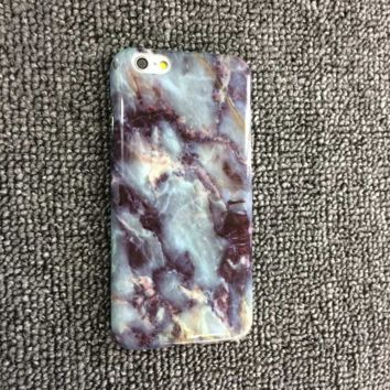Vintage Cool Marble Pattern iPhone 5s 6 6s Plus Case Cover