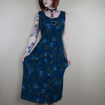 Forest Freedom Vintage Dress