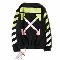 Best Deal Online Men's OFF-WHITE Long Sleeve T Shirt