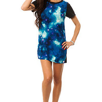 *MKL Collective The Galaxy Dress in Black and Navy Multi : Karmaloop.com - Global Concrete Culture