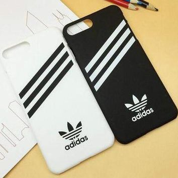 Perfect ADIDAS Popular Stripe Print iPhone 6 6s 6Plus 6sPlus 7 7 Plus Phone Cover Case