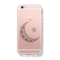 Moon Star iPhone 6 Case iPhone 6s Plus Case Galaxy S6 Edge Case C046