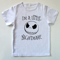 NIGHTMARE BEFORE CHRISTMAS - Children's / Kids T-Shirt - Size 1T / 2T Halloween