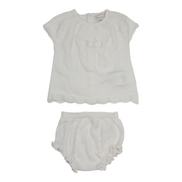 Mayoral Baby Girls' Natural Shorts Set