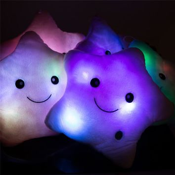 Cute Star Light Cushion
