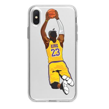 LEBRON JAMES LAKERS CUSTOM IPHONE CASE