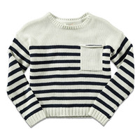 Striped Pocket Sweater (Kids)