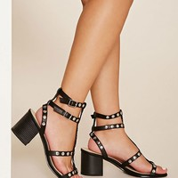 Studded Strappy Sandals