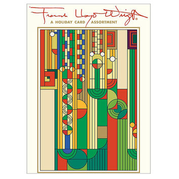 Frank Lloyd Wright Saguaro Christmas Cards