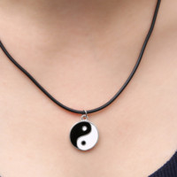 Yin Yang Cord Necklace