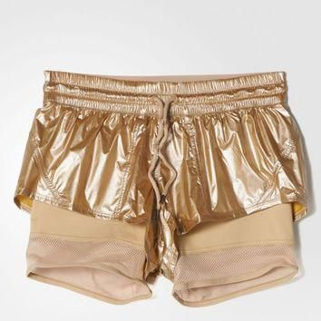 Adidas by Stella McCartney Women's Run 2-in-1 Shorts Size L FREE SHIPPING AX7272