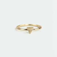Stand Tri-al Gold Knuckle Ring