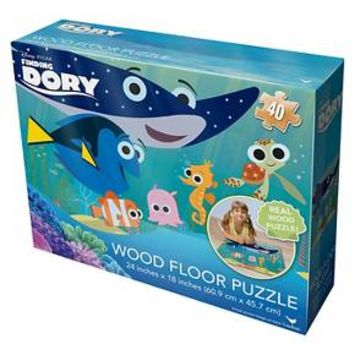 Finding Dory Wood Floor Puzzle : Target