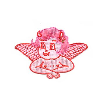 Lolly Dolly The Devil Cherub Patch