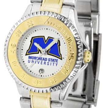 Morehead State University Eagles Competitor Ladies Two-Tone Watch