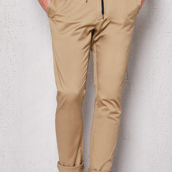 PacSun Skinny E-Waist Kelp Stretch Chino Pants at PacSun.com