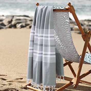 2016 New 100% Cotton Turkish Bath Towel for Adult Striped Beach Towel toalla playa Plain Towels 100*180cm