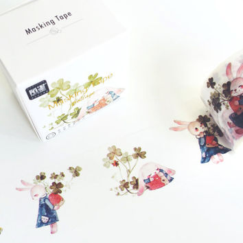 Miss Bunny washi masking tape mt