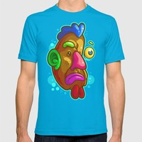 Chicken Tater Head T-shirt by Artistic Dyslexia | Society6