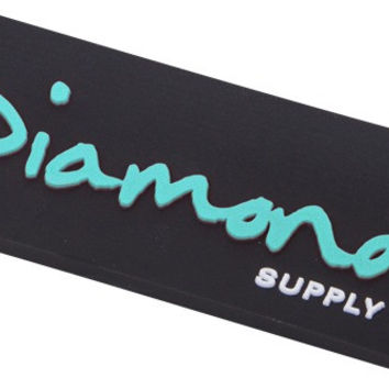Diamond OG Script Magnet Black/ Diamond Blue