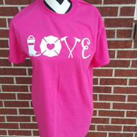 Firefighter Love Shirt. Firefighter Wife. Firefighter Tshirt. Fire Shirt. Fire Wife. Firefighter Girlfriend. Fire Tshirt. Maltese Cross.