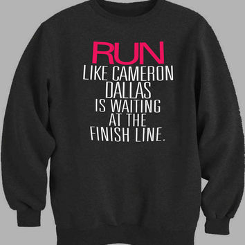 Run Cameron Dallas Sweater for Mens Sweater and Womens Sweater *