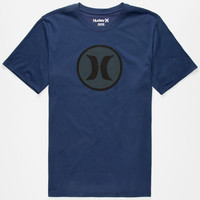 Hurley Icon Dri-Fit Mens T-Shirt Navy  In Sizes