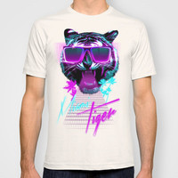 Miami Tiger T-shirt by Robert Farkas