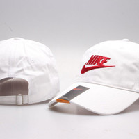 White  Golf Cap Hat