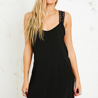 Pins & Needles Lace Insert Slip Dress - Urban Outfitters