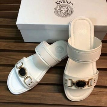Versace: Casual Fashion Man Sandal Slipper Shoes