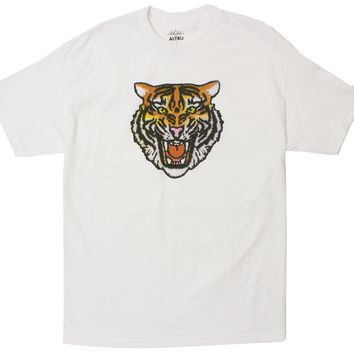 Angry Tiger Graphic Tee in White by Altru Apparel (S,XL & 2XL Only)