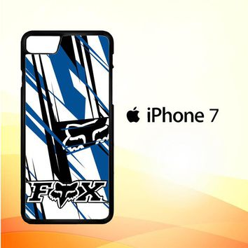 fox racing blue Z4265 iPhone 7 Case
