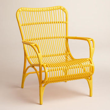 Yellow Hanalei Occasional Chairs, Set of 2 - World Market