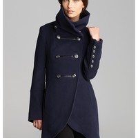 Mackage Coat - Diana Military Wool | Bloomingdale's
