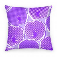 Large Purple Poppy Flower Pattern