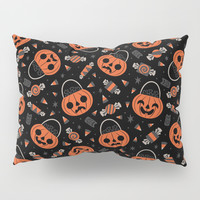 Trick or Treat Pillow Sham by therewillbecute