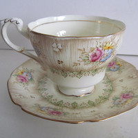 Pastel Yellow Tea Cups Paragon by appointment Virginia China Tea Cup Fruit Tea Cup Saucer Set Paragon Tea Cups
