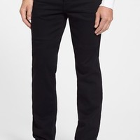 Men's 7 For All Mankind 'The Standard - Luxe Performance' Straight Leg Jeans (Nightshade Black)