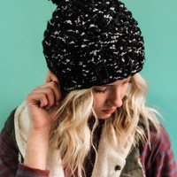 All Fall Long Hat (BLACK)
