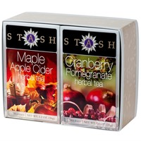 Maple Apple Cider and Cranberry Pomegranate Boxed Set