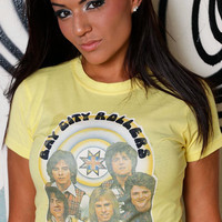 Vintage Bay City Rollers Tee / 70s T-Shirt / Teen Idols