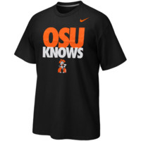 Nike Oklahoma State Cowboys OSU Knows T-Shirt - Black