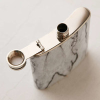 6-Oz Marbled Flask | Urban Outfitters
