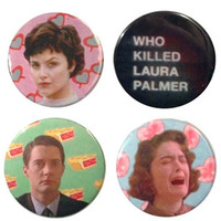 Twin Peaks Button Set