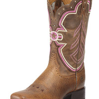 Ariat Women's Freedom Boot - Earth/Brown Bomber