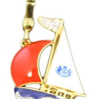 Juicy Couture Sail Boat Yacht Charm