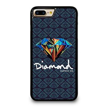 DIAMOND SUPPLY CO iPhone 4/4S 5/5S/SE 5C 6/6S 7 8 Plus X Case
