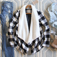 The Buffalo Plaid Coat